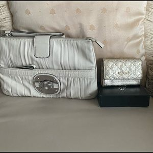 Guess Clutch and Wallet